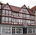 """Das """"Wernersche Haus"""" - Ehemaliges Wohnhaus und Textilgeschäft von Ottilie (""""Otti"""") Werner - Eschwege Marktplatz - panoramio.jpg"""