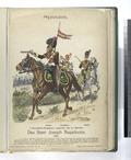 Das Heer Joseph Napoleons. Kavallerie-Regiment- Lanciers von La Mancha (Lancier, Trompeter, Offizier). 1811 (NYPL b14896507-90792).tiff