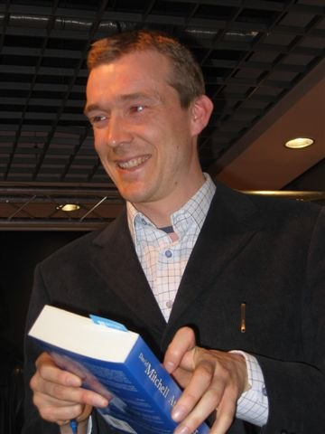 David Mitchell by Kubik