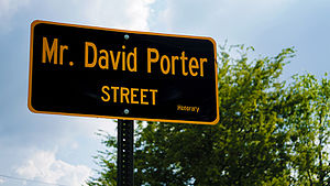 David Porter (musician) - David Porter Street in Memphis, TN