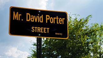 David Porter (musician) - David Porter Street in Memphis, TN