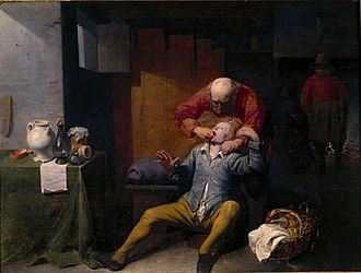 David Ryckaert III - The toothpuller