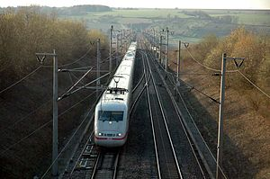 Mannheim–Stuttgart high-speed railway - Image: Db 401xxx 13