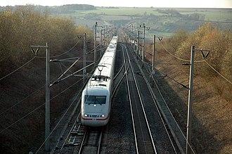 Mannheim–Stuttgart high-speed railway - Image: Db 401xxx 13
