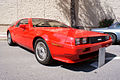 DeLorean DMC-12 1981 Red RSideFront LakeMirrorClassic 17Oct09 (14600538435).jpg