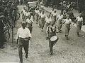 De dames van het Nationaal Jongeren Verbond op het parcours van 40 km. passeert – F40501 – KNBLO.jpg