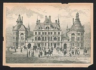 De nieuwe Nationale Bank van Antwerpen
