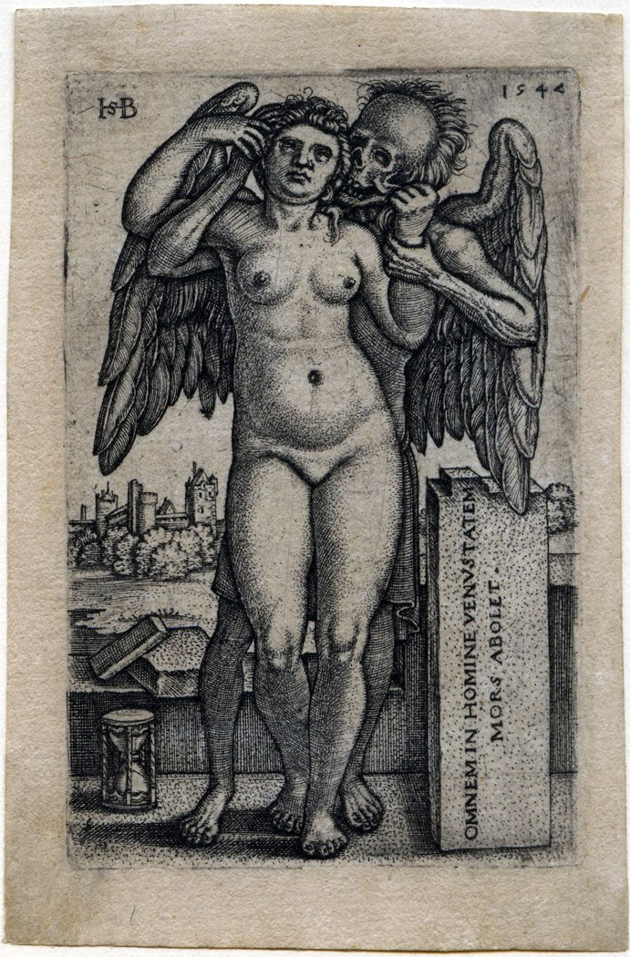 Death and the Standing Nude