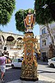 Decoration Independence square Victoria Gozo Malta 2014 2.jpg