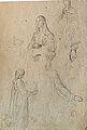 Dehodencq A. - Pencil - Etude de personnages féminins - 20x30cm.jpg