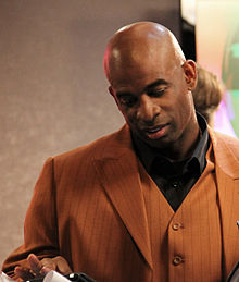Description de l'image  Deion Sanders 2011 CROP.jpg.