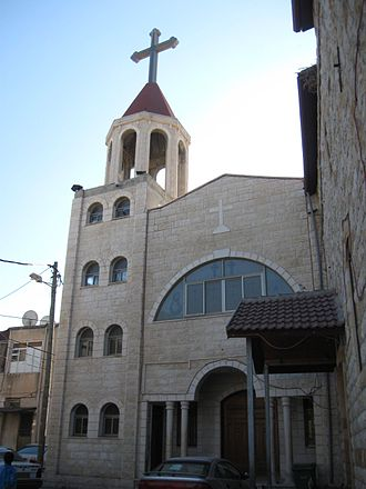 Deir Hanna - The church at Deir Hanna, 2012