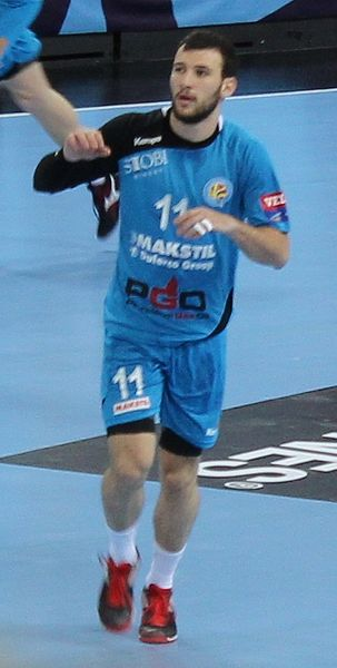 Dejan Manaskov is a Macedonian handball player who plays for Telekom  Veszprém and the Macedonian national team. a0b564152db82