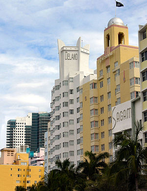 Art Deco in the United States - Image: Delano National Miami Beach