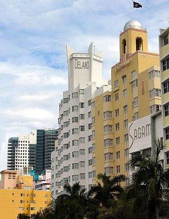 Art Deco in the United States - Image: Delano National Miami Beach
