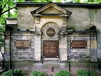 Adelbert Delbrück - Family cemetery in Berlin