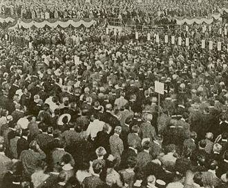 1912 Democratic National Convention - Delegates assembled on the convention floor