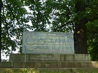 Schwarzenberg Monument in Meusdorf