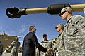 Deputy Secretary of Defense Ashton B. Carter thanks soldiers for their service as he visits the troops at the 1st Armored Division at Fort Bliss in El Paso, Texas, on 131028-D-NI589-1011.jpg