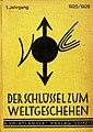 Der Schlüssel zum Weltgeschehen, 1. Jahrgang 1925.jpg