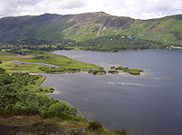 The southern end of Derwentwater