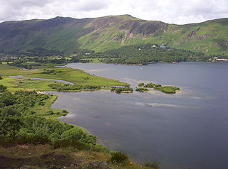 Derwentwater A lake in the Lake District, Cumbria, England