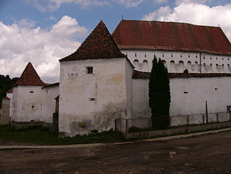 History of Unitarianism - The Unitarian Church in Dârjiu, Romania