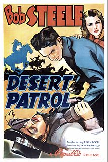 <i>Desert Patrol</i> (film) 1938 film by Sam Newfield