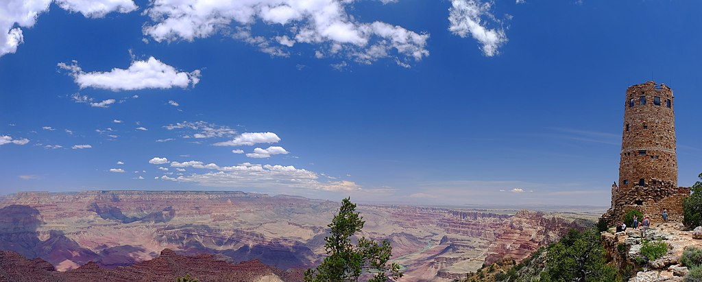 Desert View Watchtower Panorama