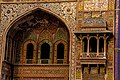 Details of architectural work on Wazir Khan Mosque walls.jpg