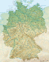 Geografi Jerman.