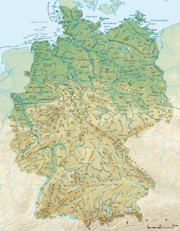 Deutschland Landschaften