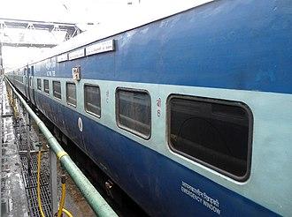 Devagiri Express - Image: Devagiri Express halted at Secunderabad