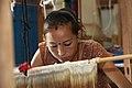 Dhaka Weaving Center, Nepal (10691935355).jpg