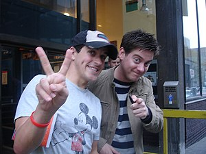 Dick and Dom - Dick (right) and Dom (left)