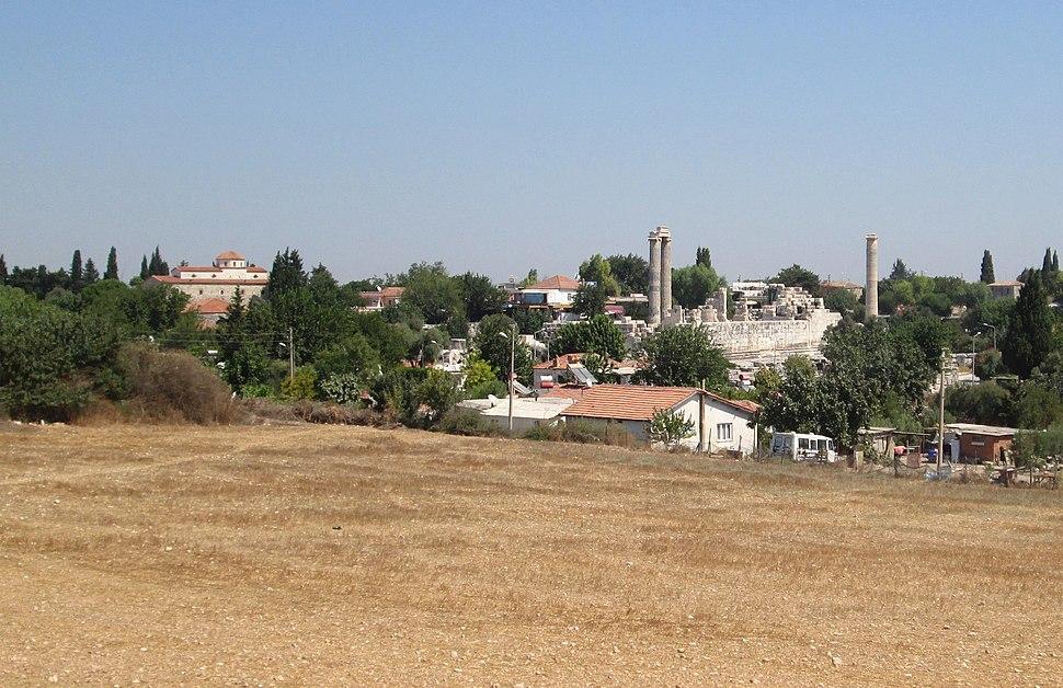 Didyma mosque temple of Apollo