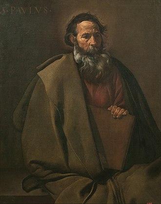 Saint Paul (Velázquez) - Image: Diego Velázquez Saint Paul Google Art Project