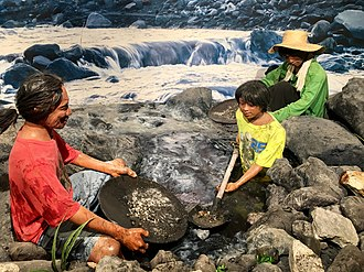 Diorama of traditional mining at Philippine National Museum. Diorama of traditional mining at Philippine National Museum.jpg