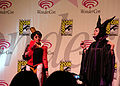 Disney Villainess Squad at WonderCon 2010 Masquerade 1.JPG