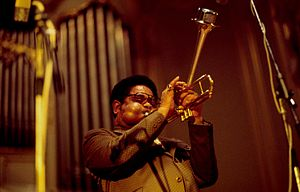 1973 in music - Dizzy Gillespie in 1973