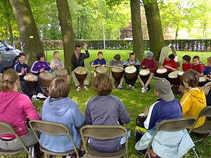 Drum circle - Facilitated drum circle