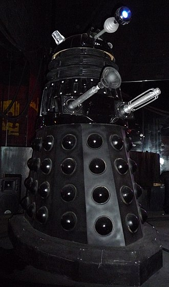 Doomsday (Doctor Who) - The Dalek Sec prop, on display at a Doctor Who exhibition.