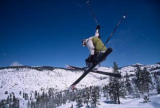 Dodge Ridge Ski Area - Image: Dodge Ridge Grab
