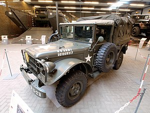 Dodge M37 - Dodge M42 in the Overloon Museum
