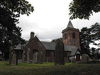 Dodleston farm village in the United Kingdom