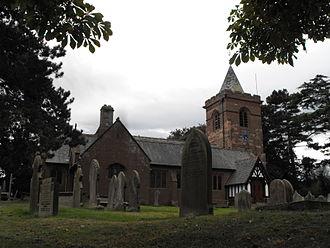 Dodleston - Image: Dodleston parish church, 2009