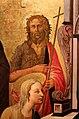 Domenico di michelino, madonna col bambino in trono e santi, 1450-60 ca., da s.m. dei cerchi firenze, 03 giovanni battista.jpg
