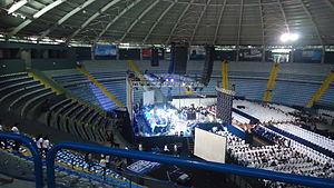 Domo Polideportivo de la CDAG - Image: Domo Polideportivo