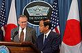 Donald Rumsfeld and Yoshinori Ohno.jpg