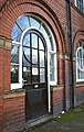 Door detail, Whitwood College - geograph.org.uk - 1048167.jpg